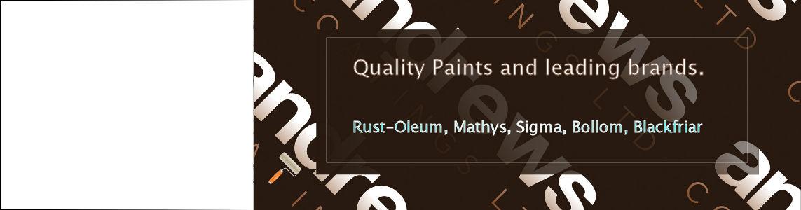 Rust-oleum paint from Andrews Coatings