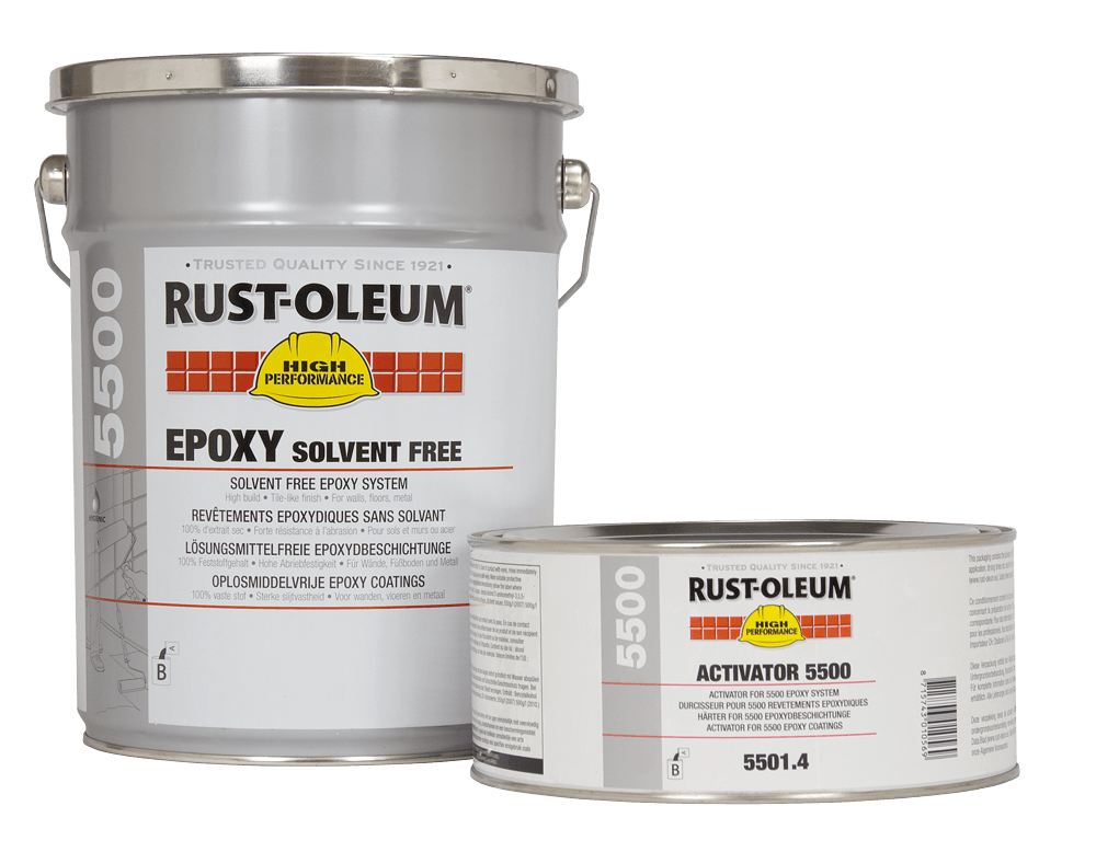 Rust Oleum 5500 Solvent Free Epoxy Andrews Coatings Ltd