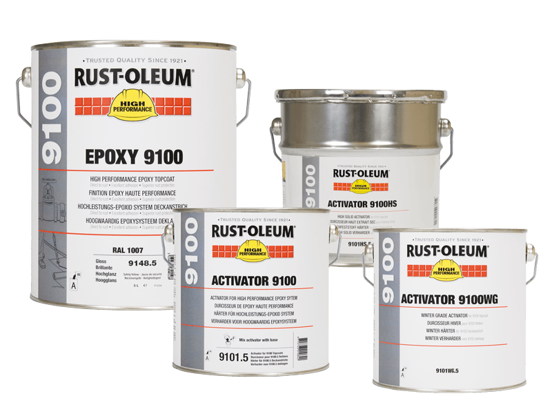 9100 Solvent Based Epoxy