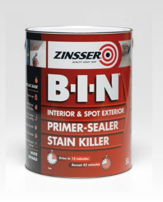 Zinsser B I N Primer Sealer Andrews Coatings Limited