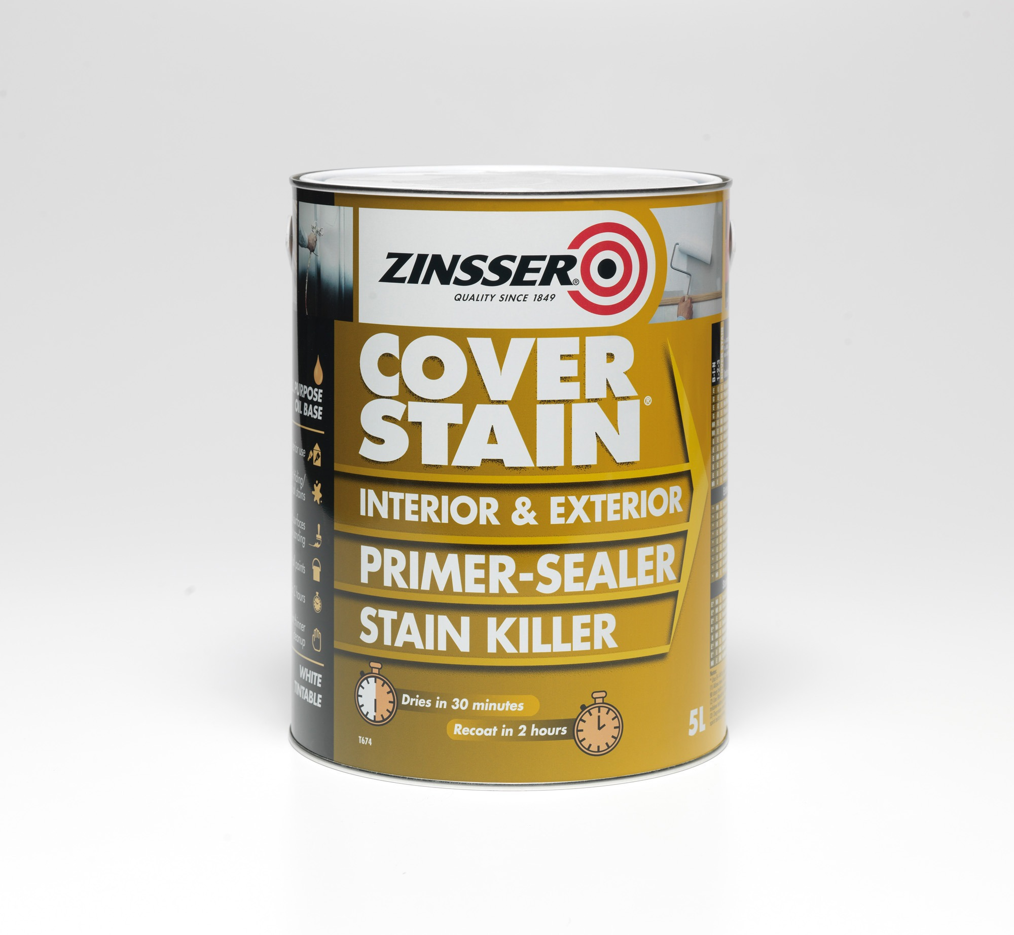 Zinsser Coverstain Primer Andrews Coatings Limited