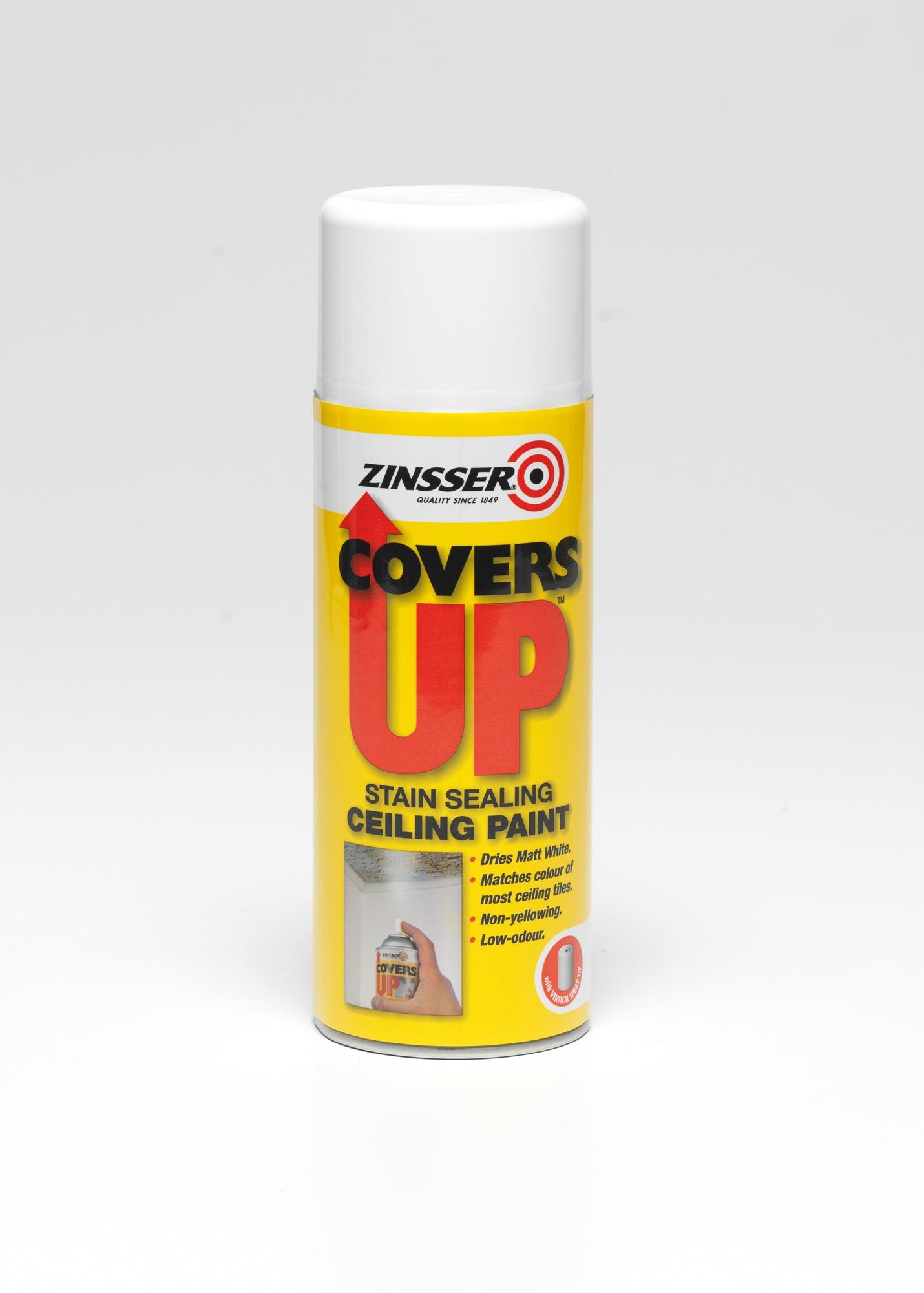 Covers up aerosol