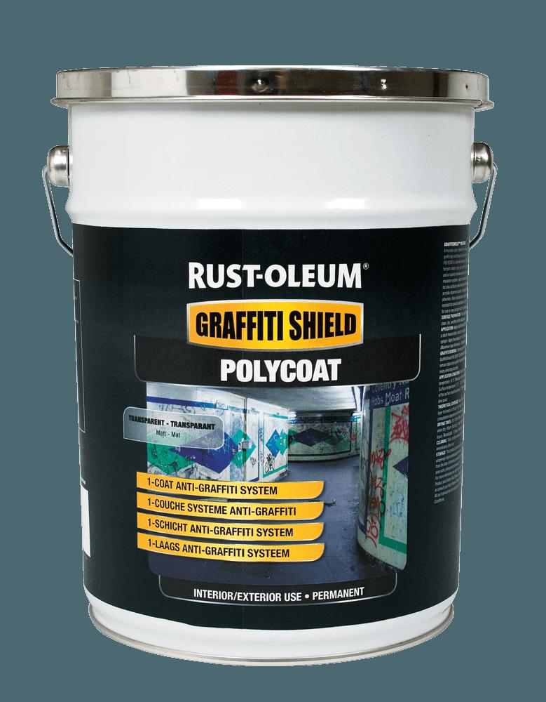 Rust Oleum Graffitishield Polycoat Andrews Coatings Ltd