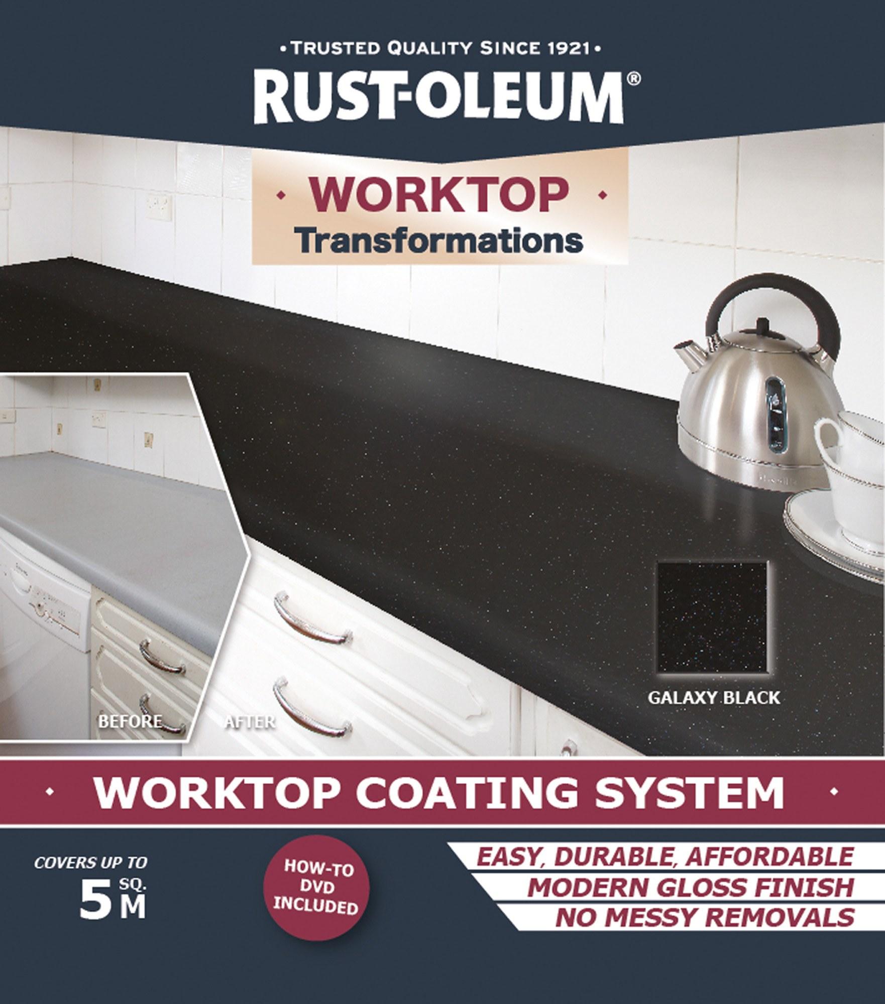 Rust Oleum Worktop Transformations Kit Andrews Coatings Ltd