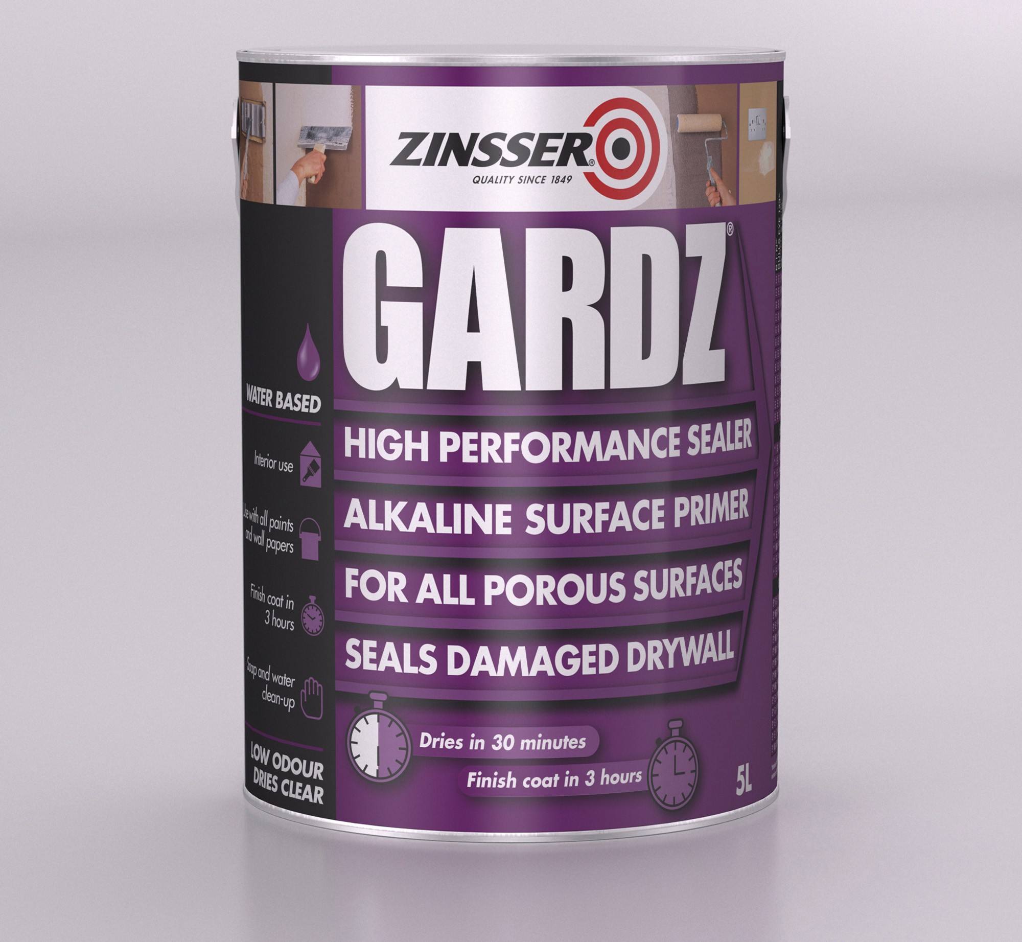 Zinsser Gardz High Performance Sealer Andrews Coatings Ltd