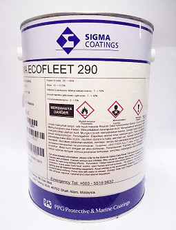 Ppg Sigma Ecofleet 290 Andrews Coatings Limited