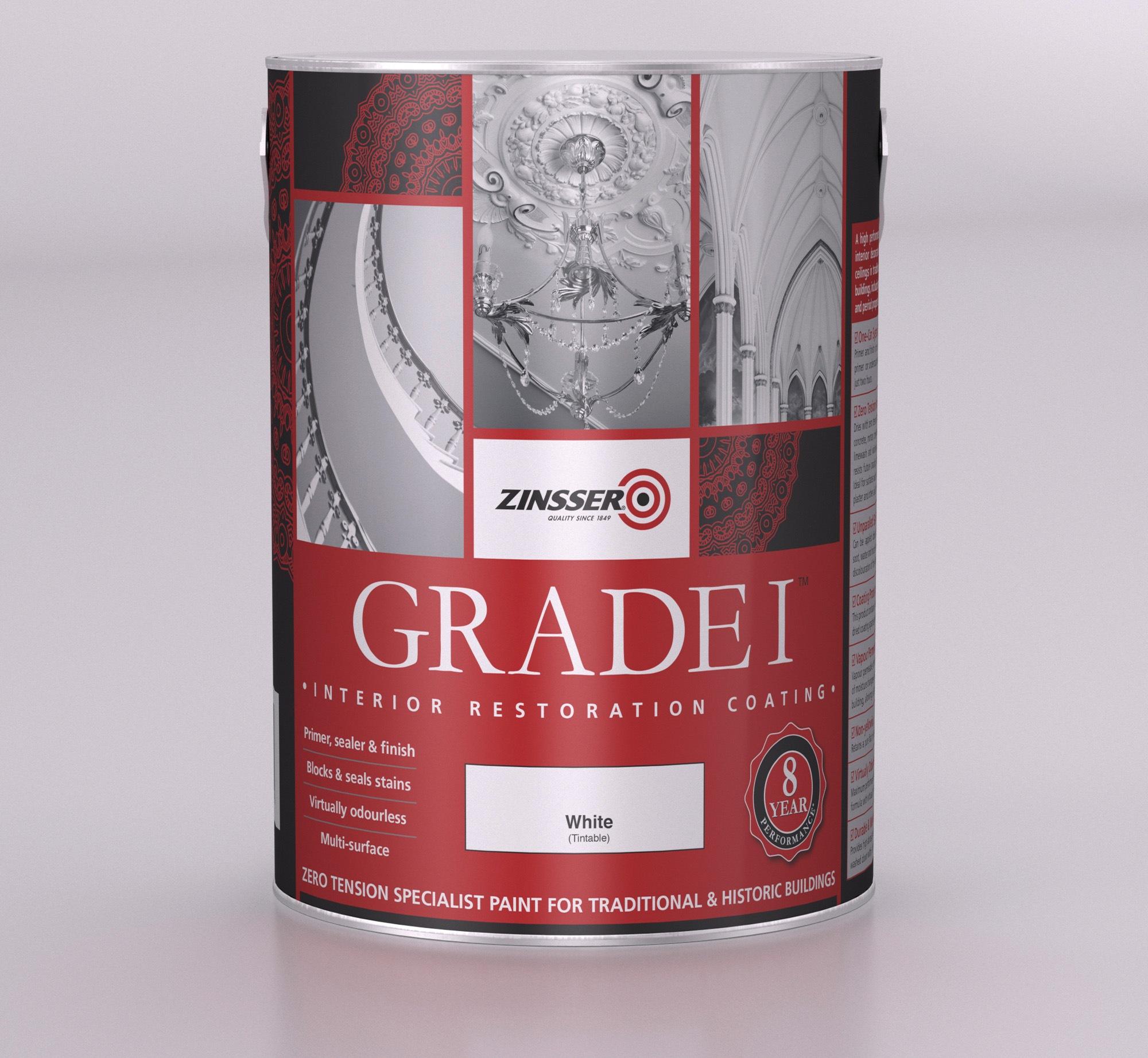 Zinsser Grade 1 Sealer Andrews Coatings Limited