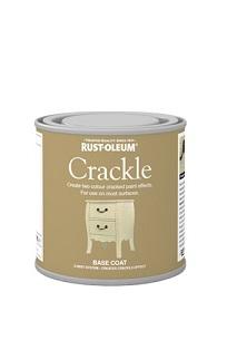 Rust Oleum Crackle Paint 250ml Andrews Coatings