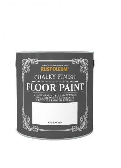 chalky floor paint