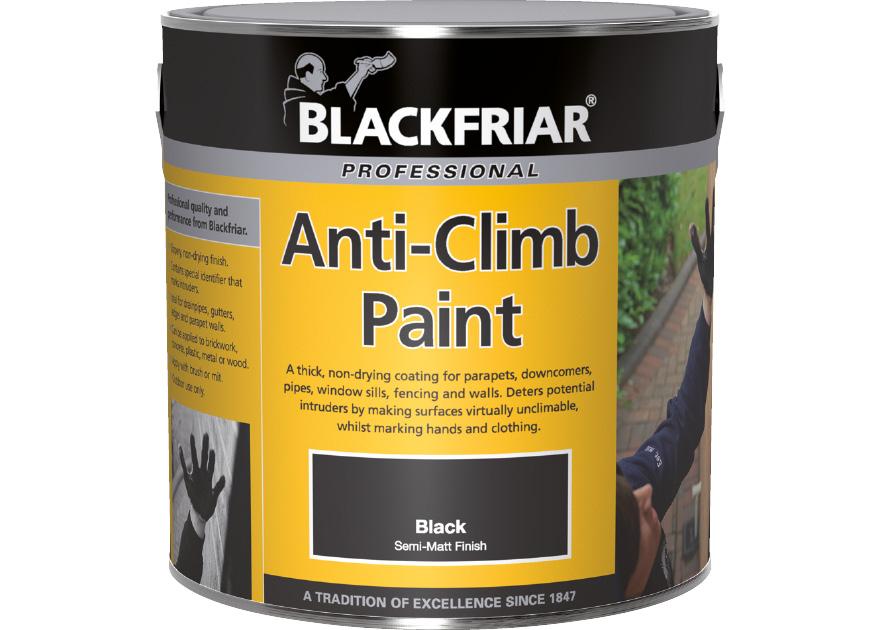 Blackfriar Professional Anti Climb Paint Andrews