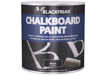 Blackfriar chalkboard paint black andrews coatings for Chalk paint at sherwin williams