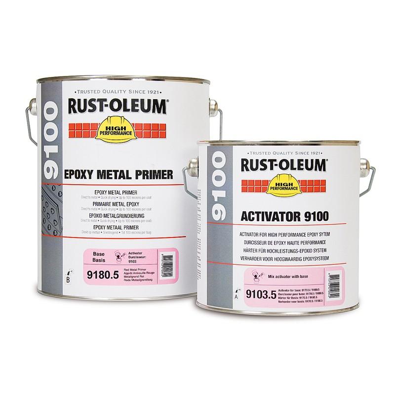 Rust Oleum 9170 9180 Epoxy Metal Primer Andrews