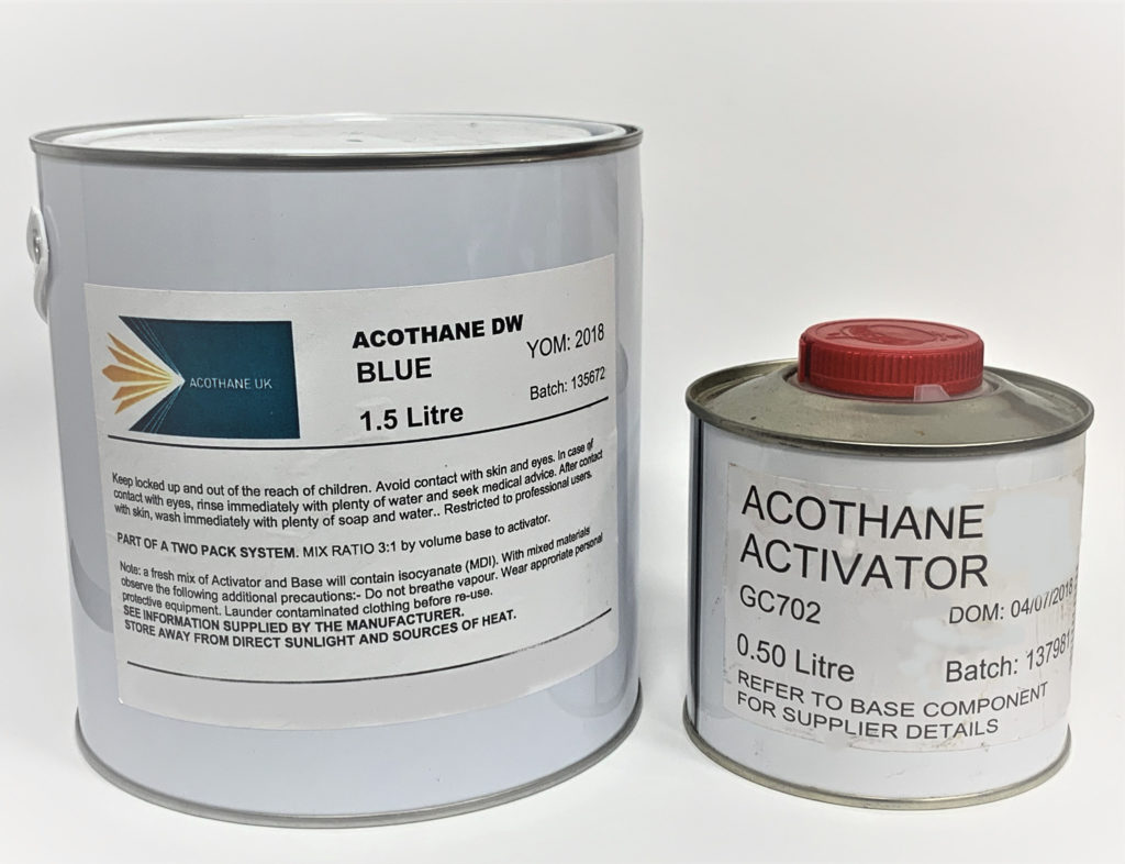 Acothane Dw Wras Approved Paint Andrews Coatings Ltd