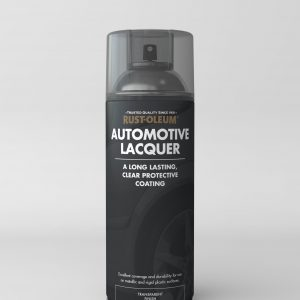Automotive clear lacquer