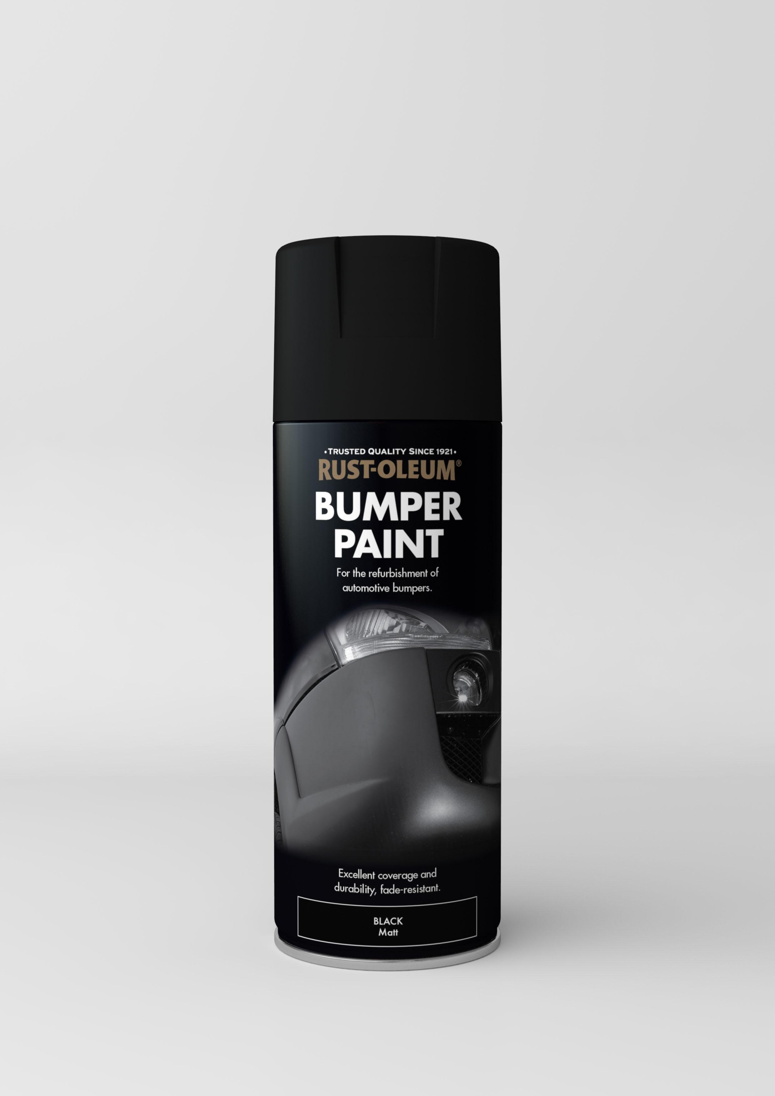 automotive bumper paint - black