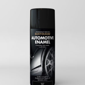 automotive enamel gloss black