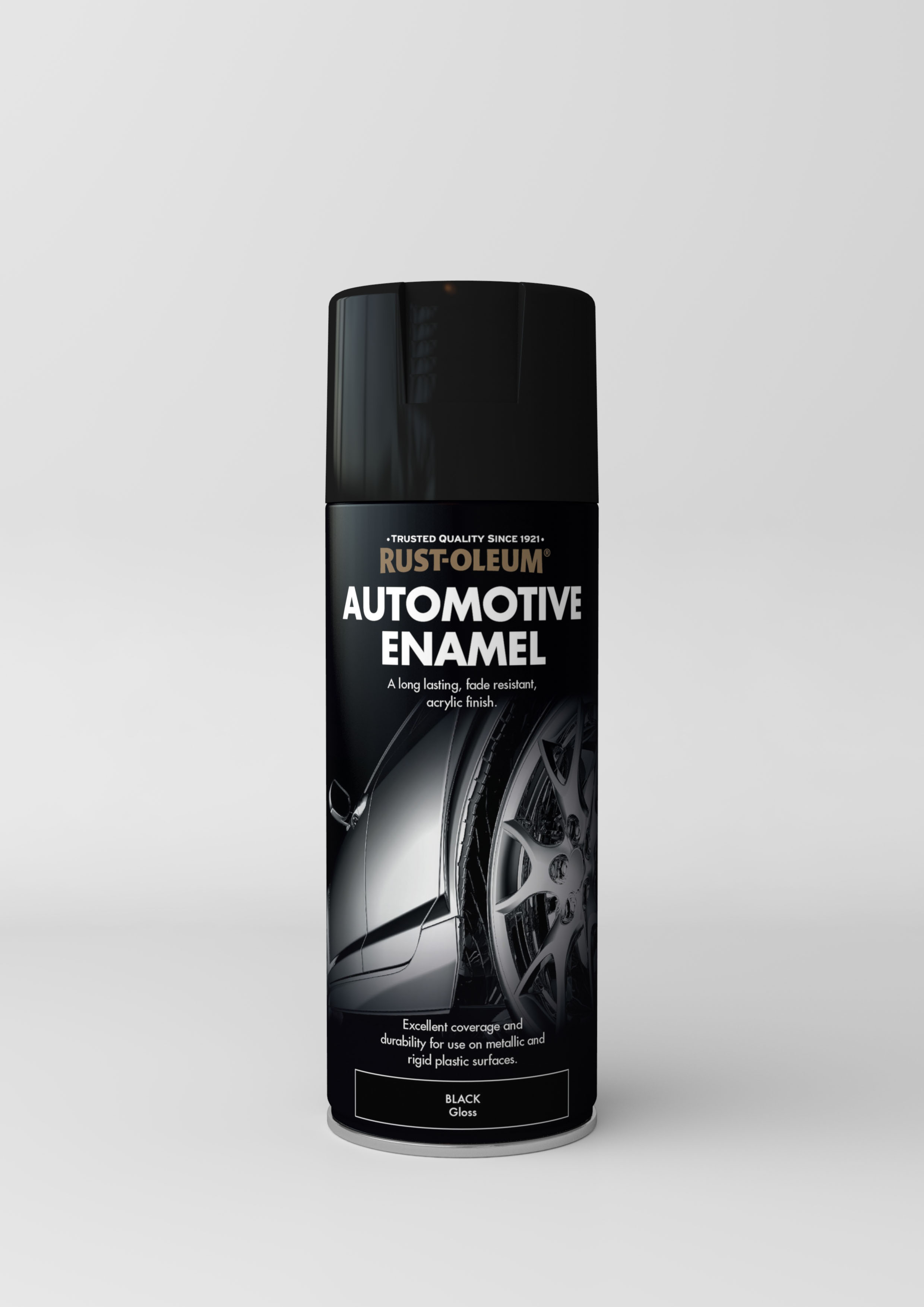 automotive enamel gloss black