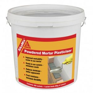 SikaMix powdered Mortar Plasticiser