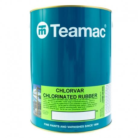 Teamac Chlorvar Swimming Pool Paint Andrews Coatings