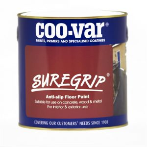 Suregrip anti-slip floor paint