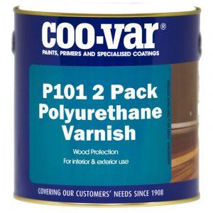 p101 2 pack polyurethane varnish