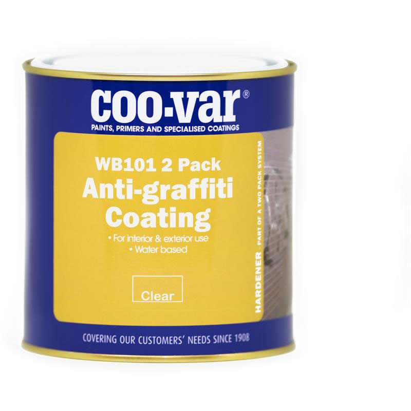 Anti Graffiti Clear Coat For Floors : Coo var wb anti graffiti coating andrews coatings ltd