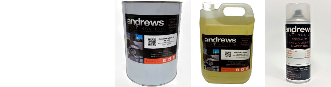 Industrial Paint from Andrews Coatings